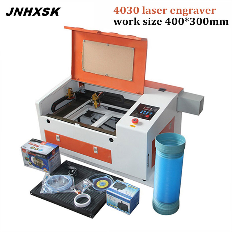 JNHXSK 50 W laser engraving machine TS4030 with honeycomb 400 x 300mm | Machinery and equipment | Metallurgical industry | Cutting machinery | Img 1 | Tabdevi.com