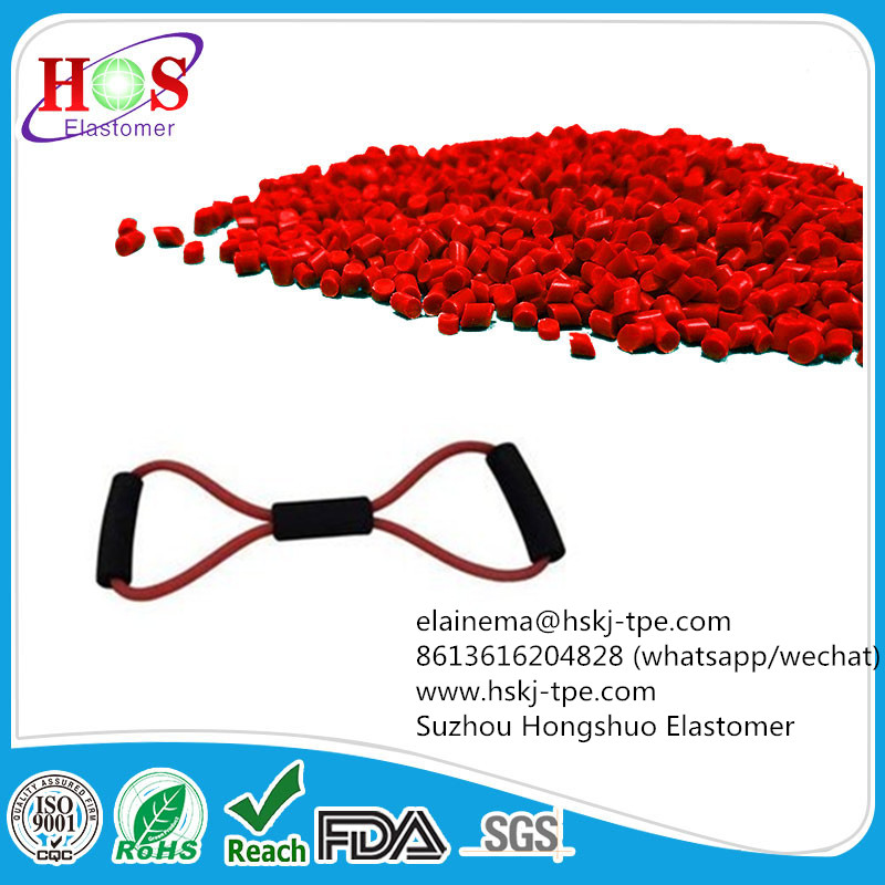 Thermoplastic raw material for exercise band | Rubber and plastics | Plastic raw material | Img 1 | Tabdevi.com