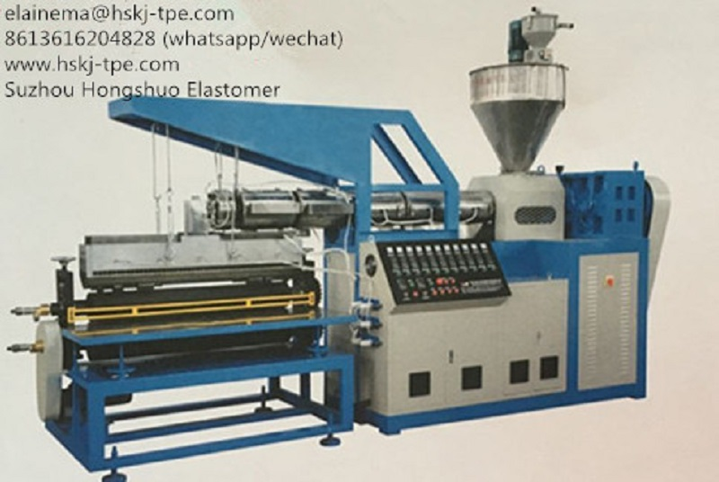 TPE TPR Coating Machine | Machinery and equipment | Plastics and derivatives industry | Img 1 | Tabdevi.com