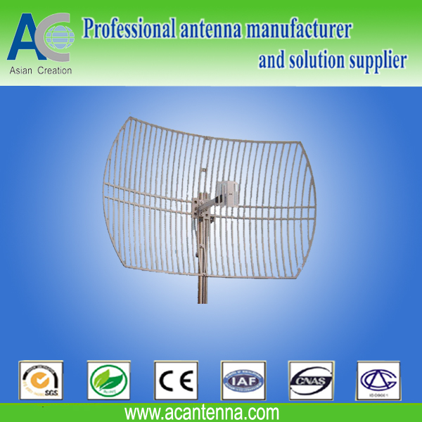 2.4GHz 24dBi Die Cast Grid Antenna | Telecommunications | Transmission and reception antennas | Img 1 | Tabdevi.com