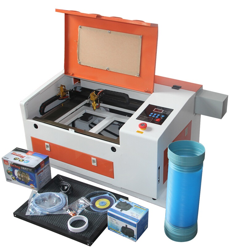 Laser engraver 4030 wood acrylic rubber stamp laser engraving machine 50W | Machinery and equipment | Metallurgical industry | Cutting machinery | Img 1 | Tabdevi.com
