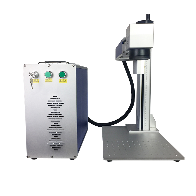 Split type metal fiber laser marking machine 20 W with maxphotonics laser | Machinery and equipment | Engraving and cutting industry | Img 1 | Tabdevi.com