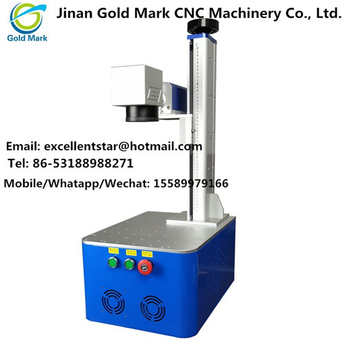 Fiber laser integrated marking machine 20W/30W 110v/220v CNC for metal gold | Machinery and equipment | Engraving and cutting industry | Img 1 | Tabdevi.com