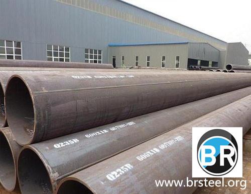 Tuberías y tubos negros S235 ERW | Materiales de construcción | Tubos, juntas y piezas especiales | Tubería acero | Img 1 | Tabdevi.com