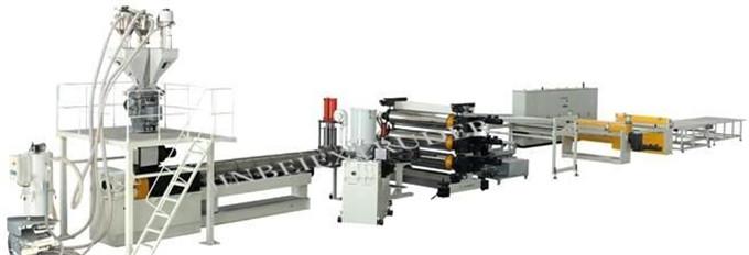 Línea de producción de placas de plástico poliestireno - HIPS, maquinaria | Maquinaria y equipos | Industria plásticos y derivados | Img 1 | Tabdevi.com