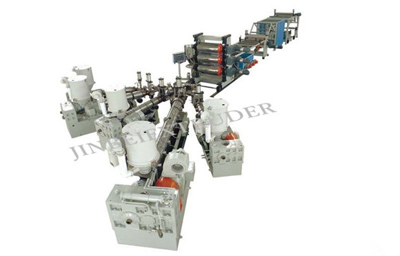HIPS Multi Layer Sheet Production Line | Machinery and equipment | Plastics and derivatives industry | Img 1 | Tabdevi.com