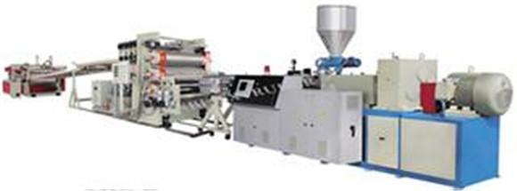 Línea de producción de tableros de espuma sin PVC, maquinaria | Maquinaria y equipos | Industria plásticos y derivados | Img 1 | Tabdevi.com