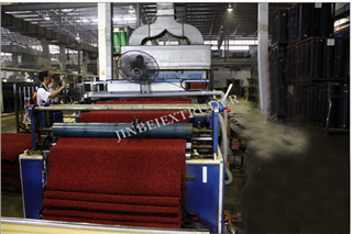 PVC Spinneret Carpet/Mat Manufacture, Production Line, Maquinery | Machinery and equipment | Plastics and derivatives industry | Img 1 | Tabdevi.com
