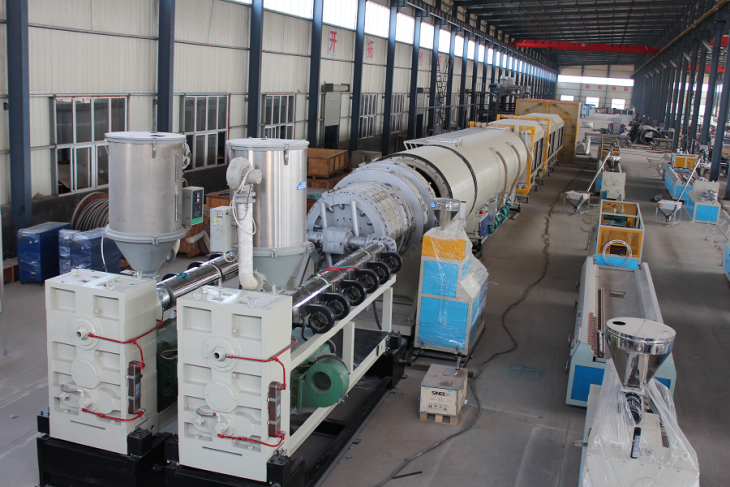 HDPE Large Diameter Pipe Production Line | Machinery and equipment | Plastics and derivatives industry | Img 1 | Tabdevi.com