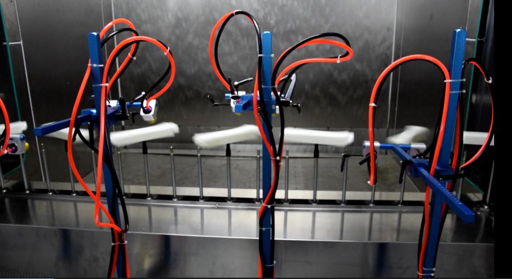 真空镀膜用紫外喷涂喷涂生产线 | 機械設備 | 塑料和衍生物工业 | Img 1 | Tabdevi.com