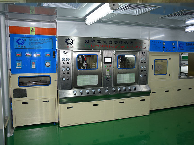 Double cabinet high speed spraying line, machinery | Machinery and equipment | Manufacturing industry | Img 1 | Tabdevi.com