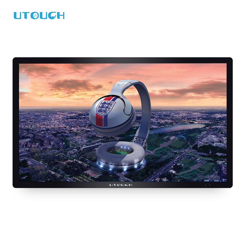 "55"" Quality dual or single System All-in-one Pc LCD Touch Screen Monitor 