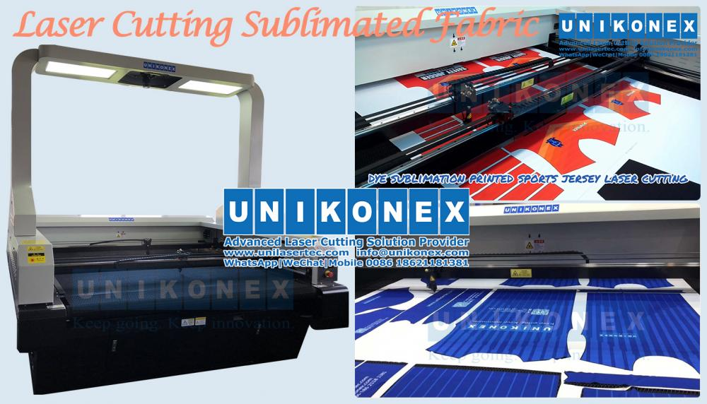 Laser cutting sublimated fabrics | Machinery and equipment | Manufacturing industry | Img 1 | Tabdevi.com