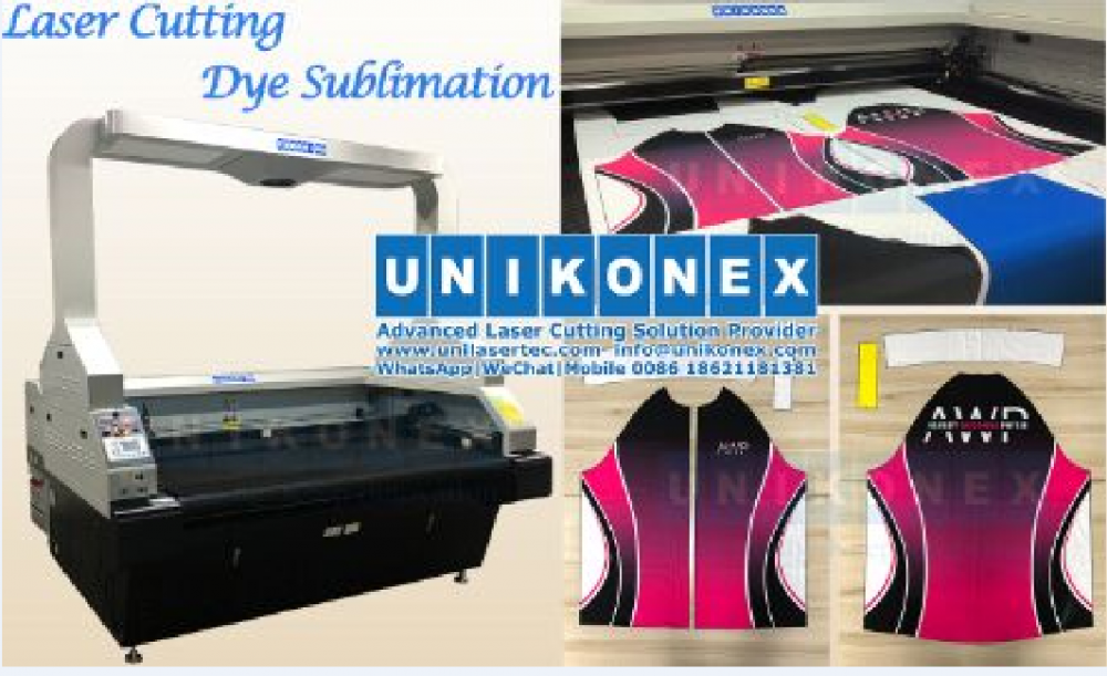 Laser cutting dye sublimation | Machinery and equipment | Clothing and textile industry | Img 1 | Tabdevi.com