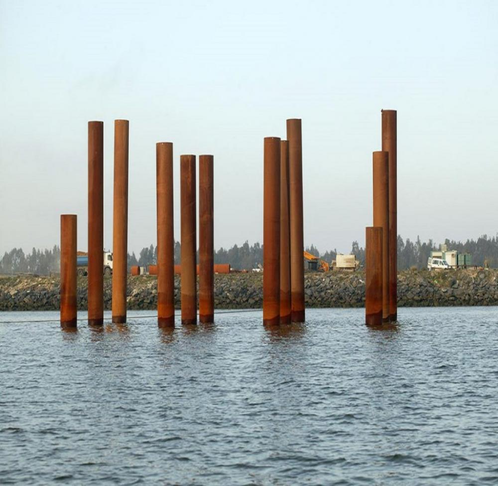 ASTM a252 /灰色/ grb GRC 300 70 / 95 / 400×500×100钢管桩的钢结构 | 建材 | 管道、接头和特殊件 | 钢管 | Img 1 | Tabdevi.com