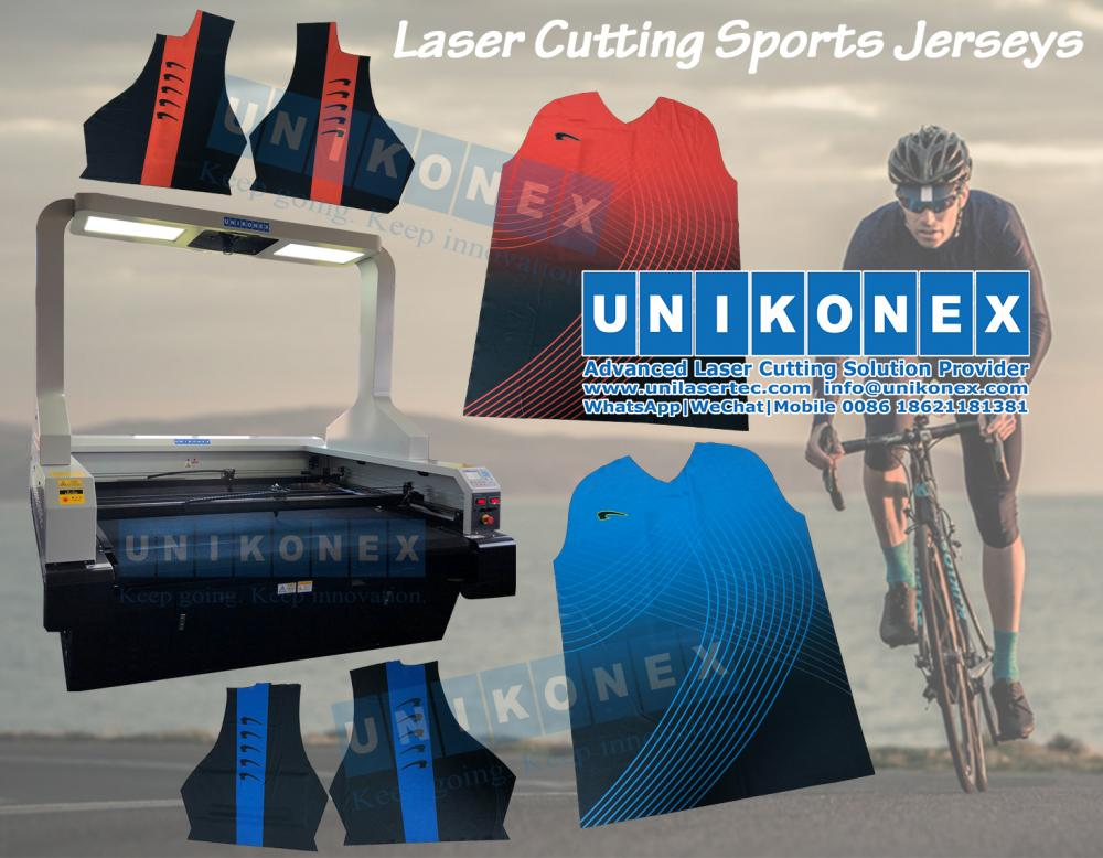 Laser cutting sports jerseys | Machinery and equipment | Clothing and textile industry | Img 1 | Tabdevi.com