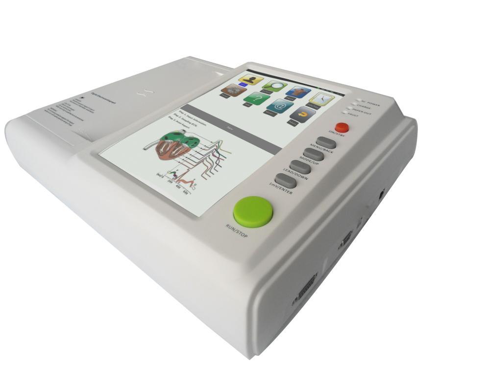 Especificación de 12 canales de electrocardiograma | Salud y medicina | Instrumentos y aparatos médicos | Img 1 | Tabdevi.com