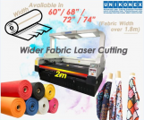 Wider fabric laser cutting, sublimation printed fabric cutting | Agricultural, heavy, industrial, construction machinery and equipment | Tabdevi.com