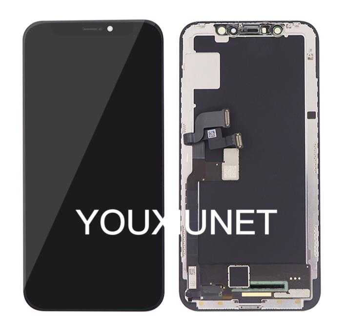 For For iPhone X Screen Digitizer Assembly with Frame Replacement | Consumer electronics | Telephony, mobile, GPS and accessories | Mobile phones and accessories | Img 1 | Tabdevi.com