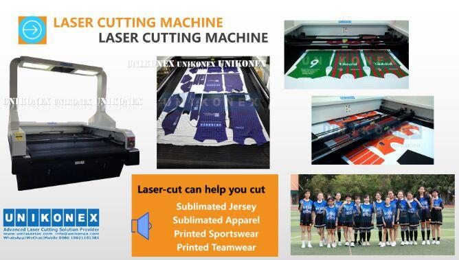Machinery of laser cut sublimation fabric by Unikonex | Machinery and equipment | Clothing and textile industry | Img 1 | Tabdevi.com