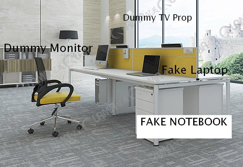 Dummy display. Laptop props fake decorations computer | Home, decoration, terrace and garden | Home, hotel, office and business decoration | Monitors | Img 1 | Tabdevi.com