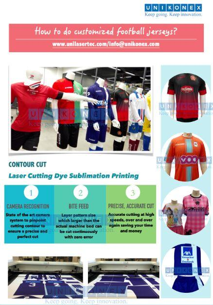 Unikonex machine laser cutting dye sublimation sports jerseys | Machinery and equipment | Clothing and textile industry | Img 1 | Tabdevi.com