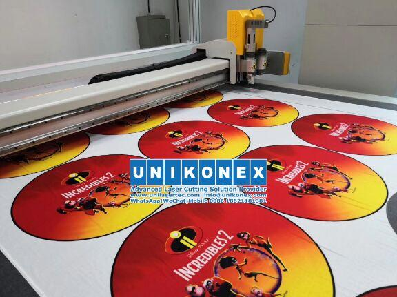 Machine of sublimated printing fabric cutting | Machinery and equipment | Clothing and textile industry | Img 1 | Tabdevi.com