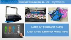 Laser cut sublimated fabric machine | Agricultural, heavy, industrial, construction machinery and equipment | Tabdevi.com