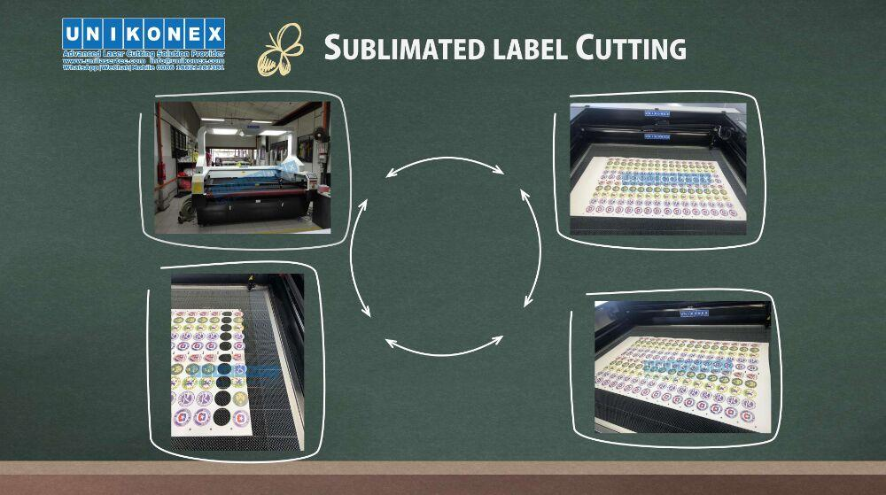 Machinery of sublimated labels cutting and sublimated twill | Machinery and equipment | Clothing and textile industry | Img 1 | Tabdevi.com