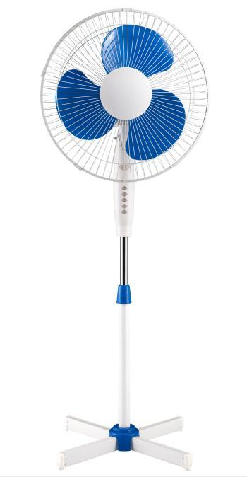 16-inch pedestal fan with CRYSF-16BVI cross base | Household appliances | Cold and heat | Fans | Img 1 | Tabdevi.com