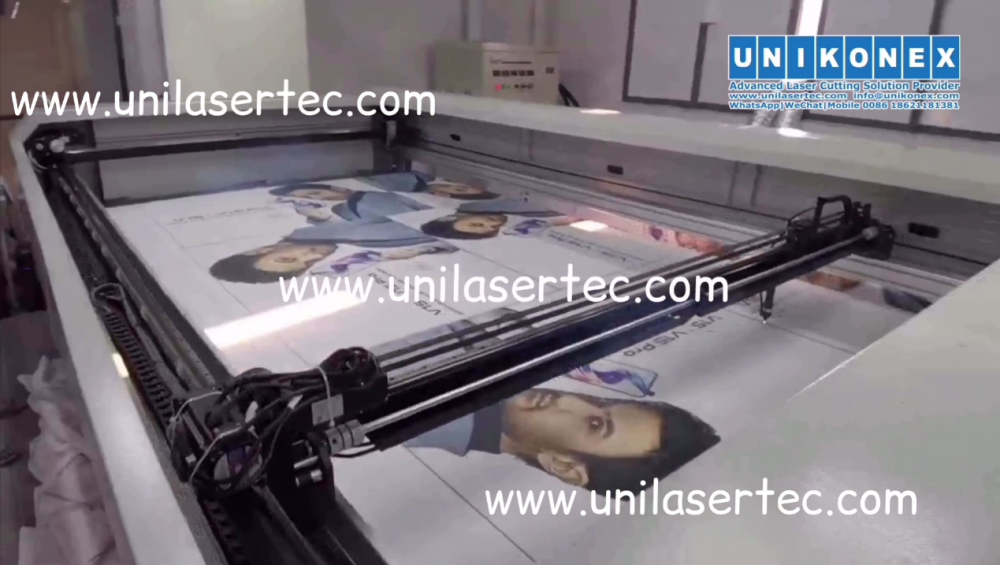 Easy laser cutting machine for wide format printing | Machinery and equipment | Clothing and textile industry | Img 1 | Tabdevi.com