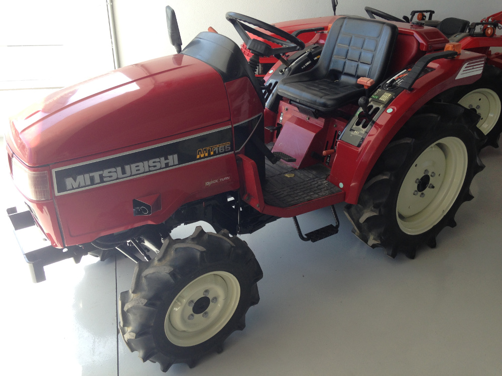 MITSUBISHI MT 165 Mini Tractors - Tractors for sale, agricultural machinery | Machinery and equipment | Agriculture and irrigation | Used tractors | Img 1 | Tabdevi.com