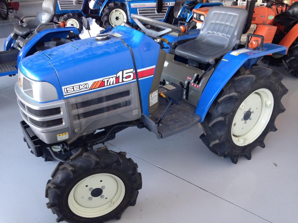 ISEKI TM15 Mini Tractors - Agricultural Machinery and Equipment | Machinery and equipment | Agriculture and irrigation | Used tractors | Img 1 | Tabdevi.com