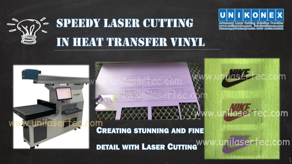 Unikonex speedy laser cutter in heat transfer vinyl | Machinery and equipment | Clothing and textile industry | Img 1 | Tabdevi.com