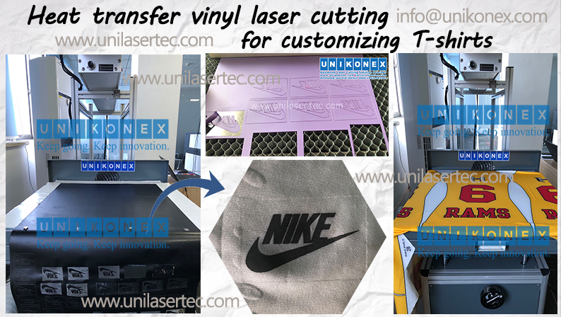 Unikonex laser cutting heat transfer vinyl for customizing T-shirt | Machinery and equipment | Manufacturing industry | Img 1 | Tabdevi.com