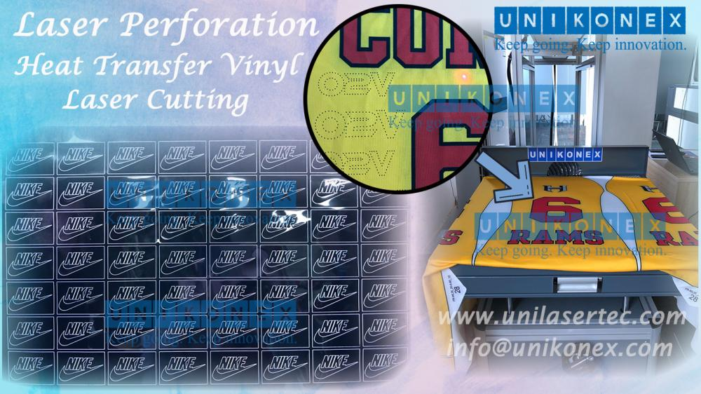 Unikonex laser perforation and heat transfer vinyl laser cutting machine | Machinery and equipment | Clothing and textile industry | Img 1 | Tabdevi.com