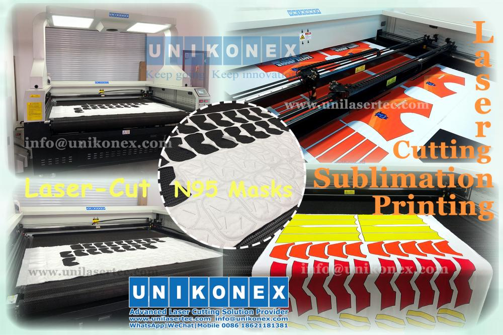 Unikonex laser cut sublimation printing textile and fabric machine | Machinery and equipment | Clothing and textile industry | Img 1 | Tabdevi.com