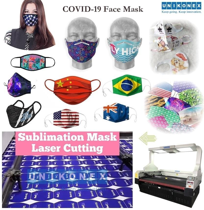 用激光切割机将升华运动衫改造成升华面罩 | 機械設備 | 雕刻和切割行业 | Img 1 | Tabdevi.com