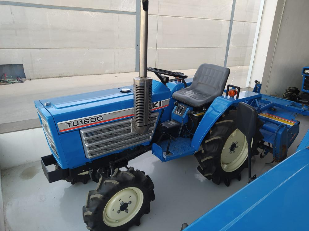 Iseki TU1600 tractor for sale with rotavator, checked and guaranteed | Machinery and equipment | Agriculture and irrigation | Used tractors | Img 1 | Tabdevi.com