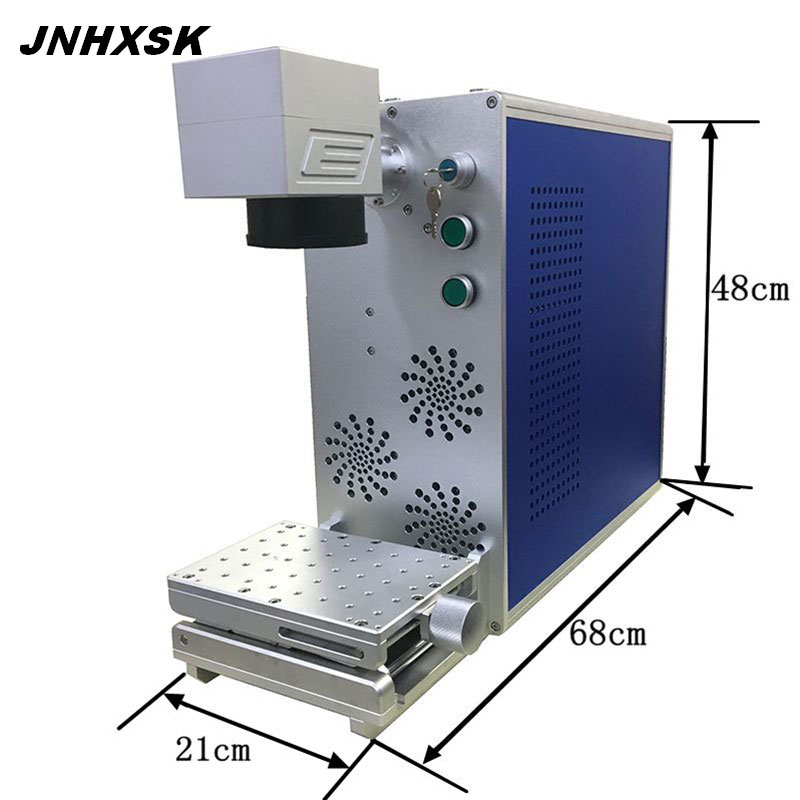 JNHXSK 20W 110 mm x 110 mm portable fiber laser marking machine TS-20P | Machinery and equipment | Metallurgical industry | Cutting machinery | Img 1 | Tabdevi.com